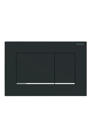 Смывная клавиша Sigma30, черная матовая, Geberit 115.883.14.1, Черный матовый, Пластик