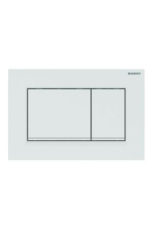 Смывная клавиша Sigma30, белая матовая, Geberit 115.883.01.1, Белый матовый, Пластик