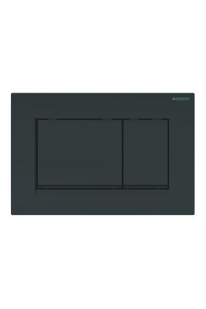 Смывная клавиша Sigma30, черная, Geberit115.883.DW.1, Черный, Пластик