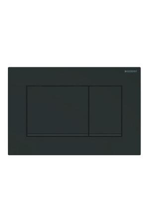 Смывная клавиша Sigma30, черная матовая, Geberit 115.883.16.1, Черный матовый, Пластик