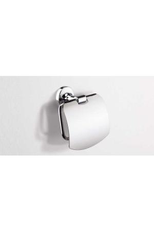 Держатель туалетной бумаги, хром, Sonia E-Plus 124589, Хром, настенный, Латунь