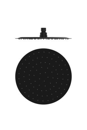 Тропический душ ø250, плоский, черный матовый, GRB Incool 00080042, Черный матовый