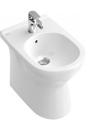 Биде O.novo 360 x 560 546100R1, Белый с покрытием, Фарфор