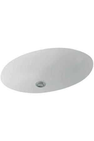 Раковина для установки под столешницу Evana 615 x 415 61440001, Белый, Керамика - встраиваемый снизу, Фарфор