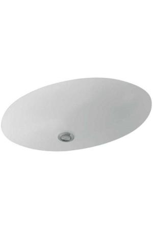 Раковина для установки под столешницу Evana 455 x 305 61474601, Белый, Керамика - встраиваемый снизу, Фарфор