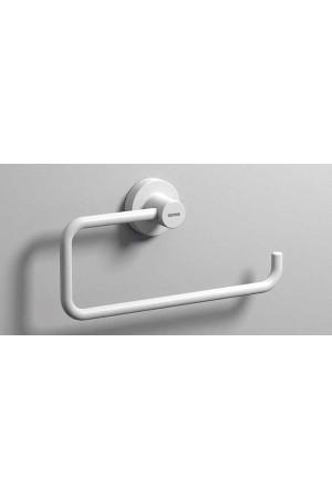 Полотенцедержатель полукольцо 200 мм, белый матовый, Sonia Tecno Project 176861, Белый матовый, настенный, Латунь