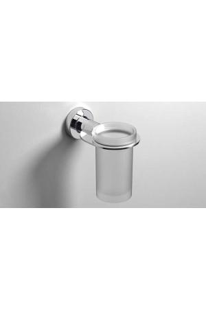Стаканчик для зубных щеток подвесной, хром, Sonia Tecno Project 116935, Хром, настенный, Латунь