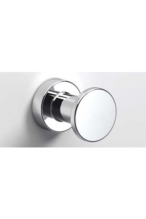 Крючок в ванную комнату Ø35, хром, Sonia Tecno Project 116881, Хром, настенный, Латунь
