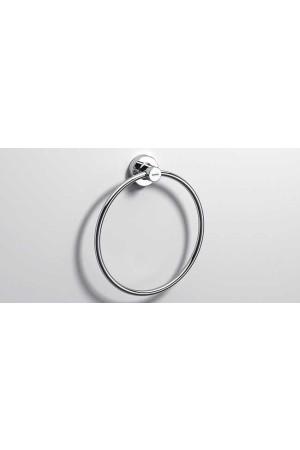 Полотенцедержатель кольцо 210 мм,  хром, Sonia Tecno Project 116911, Хром, настенный, Латунь