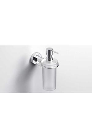 Подвесной дозатор жидкого мыла 195мл., хром, Sonia Tecno Project 118281, Хром, настенный, Латунь