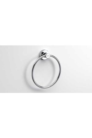 Полотенцедержатель кольцо 180 мм, хром, Sonia Tecno Project 117031, Хром, настенный, Латунь