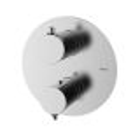 Встроенный термостат с вентилем, 2 выхода TIME GRB 47120470