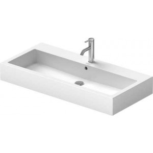 Duravit Vero Умывальник для мебели 1000 мм 045410, Белый, Керамика - на мебели, Керамика - подвесной, Фарфор