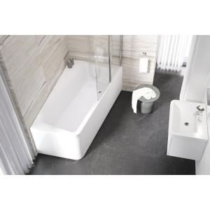 Акриловая асимметричная ванна 10° 160x95 L Ravak C831000000