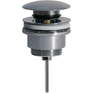 Донный клапан нажимной универсальный GBR 081100, Хром, Латунь