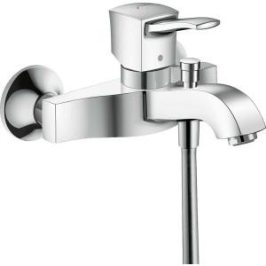 Смеситель для ванны, хром, Hansgrohe Metropol Classic 31340000, Хром, настенный