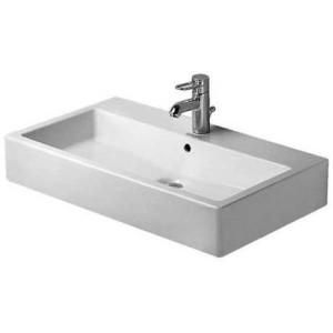Duravit Vero Умывальник для мебели 800 мм 045480, Белый, Керамика - на мебели, Керамика - подвесной, Фарфор
