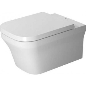 Duravit P3 Comforts Унитаз подвесной Duravit Rimless® 380 x 570 мм 256109, Белый антибак., Керамика