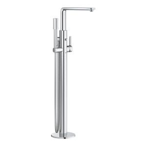 Смеситель однорычажный для ванны, напольный Grohe Lineare 23792001, Хром, Смесители - напольный