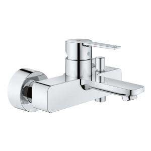 Смеситель однорычажный для ванны, Lineare Grohe 33849001, Сталь, Смесители - настенный открытый