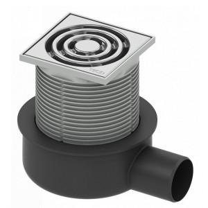Душевой трап TECEdrainpoint 360.10.50, хром, пластик