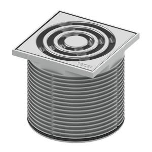 Декоративная решетка в пластиковой рамке TECE TECEdrainpoint S 3660001