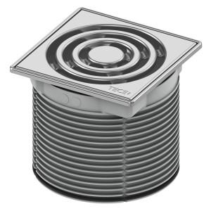 Декоративная решетка в стальной рамке с монтажным элементом TECE TECEdrainpoint S 3660002