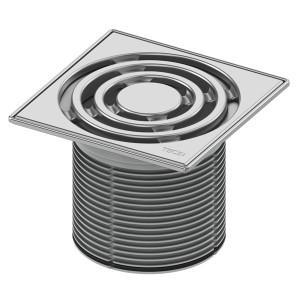 Декоративная решетка в стальной рамке с монтажным элементом TECE TECEdrainpoint S 3660004