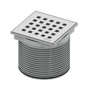 Декоративная решетка QUADRATUM 100 мм TECE TECEdrainpoint S 3660007