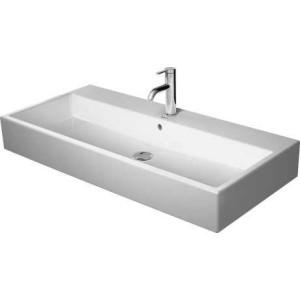 Duravit Vero Air умывальник для мебели 1000 мм 235010, Белый, Керамика - на мебели, Керамика - подвесной, Керамика