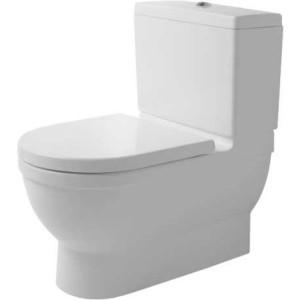 Напольный унитаз 420 x 740 мм Big Toilet Duravit Starck 3 210409, Белый антибак., Керамика