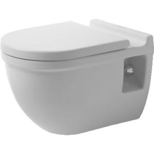 Duravit Starck 3 Унитаз подвесной Comfort 360 x 545мм 221509, Белый, Фарфор