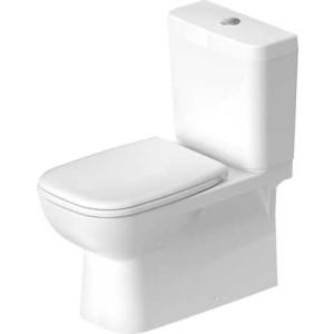 Duravit D-Code Унитаз комбинированный 360 x 695мм 214209, Белый, Керамика