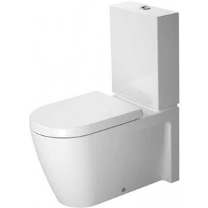 Duravit Starck 2 Унитаз комбинированный 370 x 725мм 212909, Белый, Фарфор