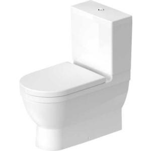 Duravit Starck 3 Унитаз комбинированный 370 x 705мм 214109, Белый, Фарфор