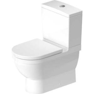 Duravit Starck 3 Унитаз комбинированный 360 x 655мм 012809, Белый, Фарфор