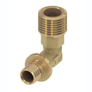 Уголок соединительный с ниппелем 20 × R 3/4 TECE TECEflex 707501