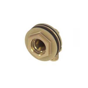 Угловое присоединение резьбовое для сливных бачков 16 × Rp 1/2