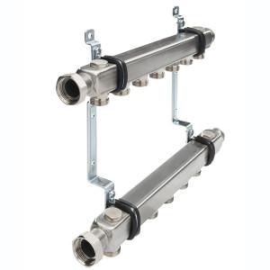 Коллектор для системы отопления в сборе, 6 контуров TECE TECEflex 712555