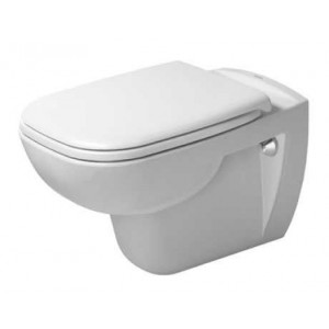 Duravit D-Code Унитаз подвесной Duravit Rimless® 355 x 545мм 257009, Белый, Керамика