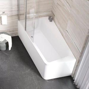 Акриловая асимметричная ванна 10° 170x100 L Ravak C811000000