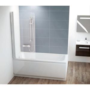 Шторка для ванны белый Ravak 7QR40100Z1