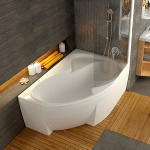 Акриловая асимметричная ванна Rosa II 150 x 105 P Ravak CJ21000000