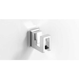 Крючок для ванной, хром, Sonia S-Cube 118984, Хром, настенный, Латунь