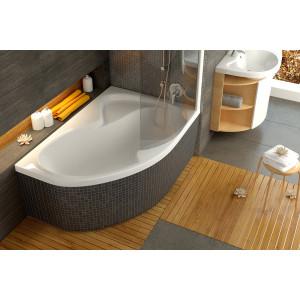 Шторка для ванны Rosa 170 L рейн Ravak 76LB010041