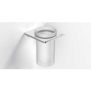 Стаканчик для зубных щеток настенный, хром, Sonia S-Cube 166831, Хром, настенный, Латунь
