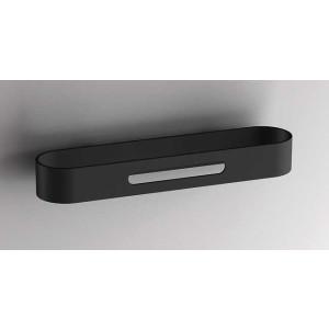 Держатель для полотенец 300 мм, черный матовый, Sonia S5 176434, Черный матовый, настенный, Нержавейка