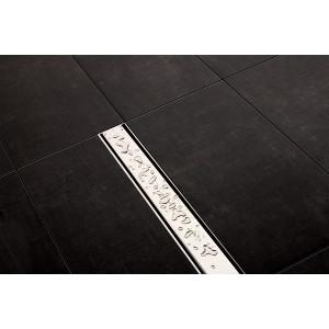Крышка Tece Steel II 850 мм 600983, Сатин, Нержавейка