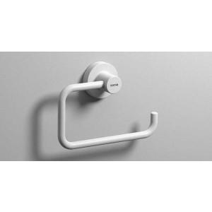 Полотенцедержатель полукольцо 160 мм, белый матовый, Sonia Tecno Project 176830, Белый матовый, настенный, Латунь